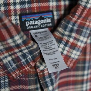 M's Patagonia Long-Sleeved Fjord Flannel Shirt